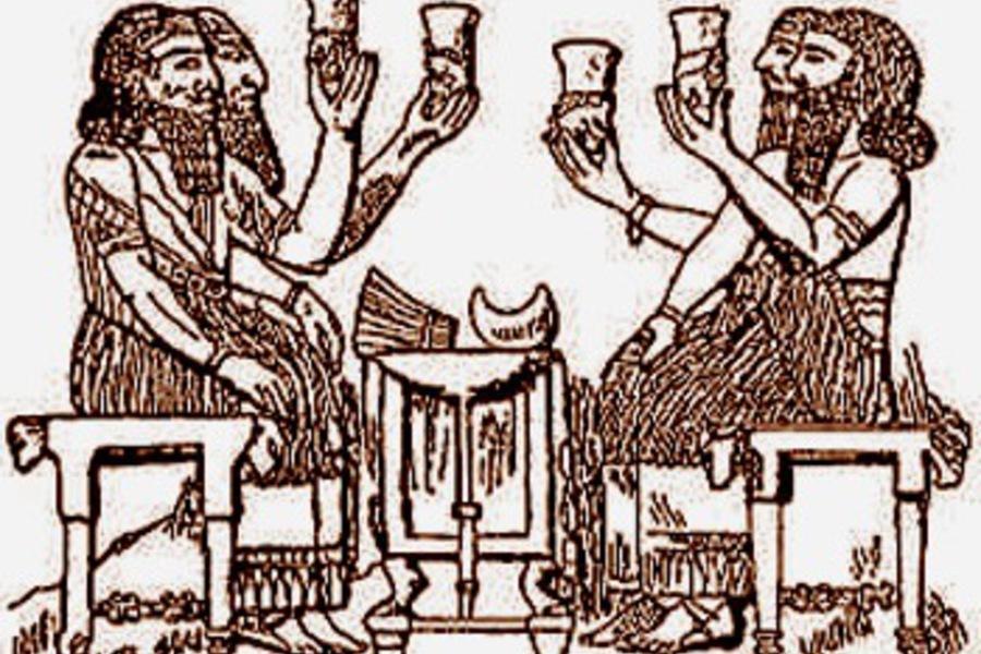 В Древнем Вавилоне пивовара