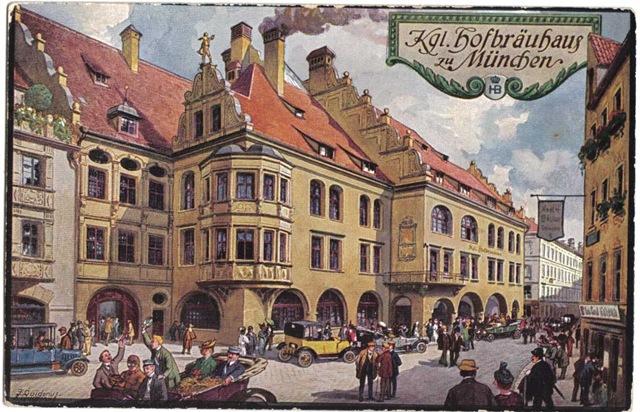 Хофбройхаус – ресторан в котором создавалась история