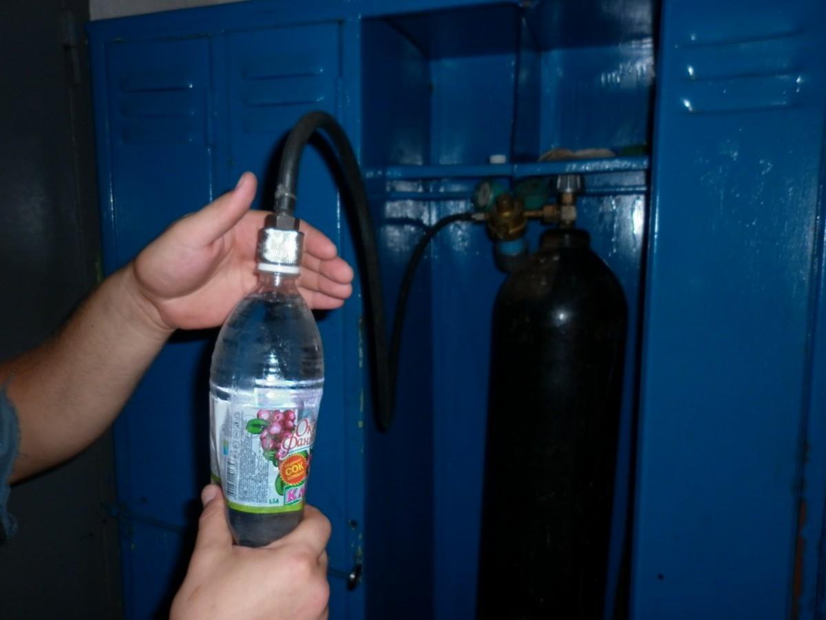 Газ из воды в домашних условиях