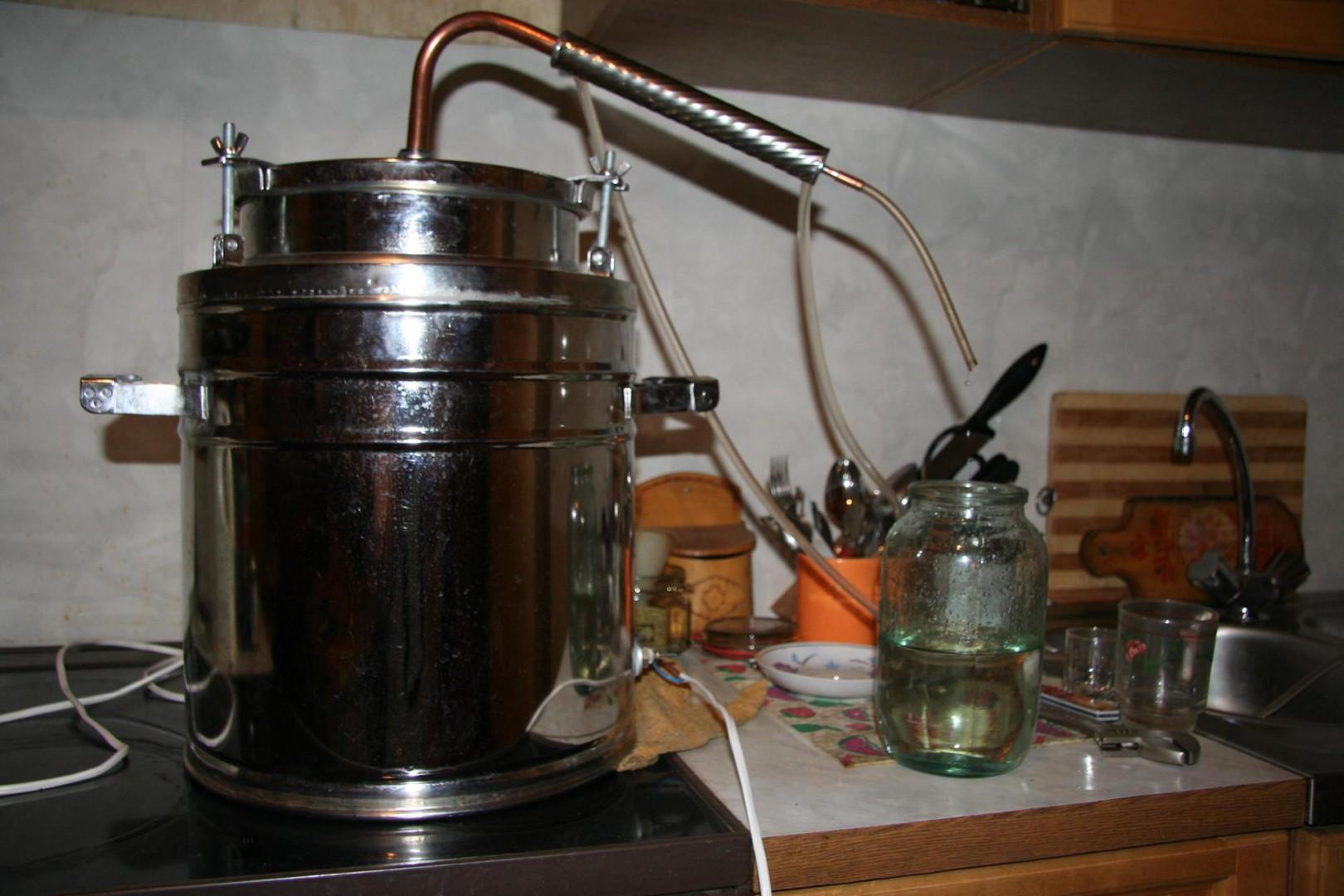 Как варить самогон без аппарата