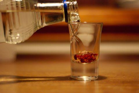 беконовая водка