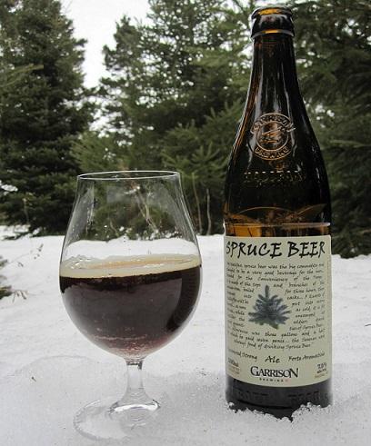 еловое пиво