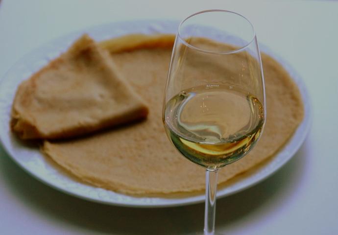 Рецепты блинов с алкоголем