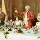 Застольные тосты: история и традиции