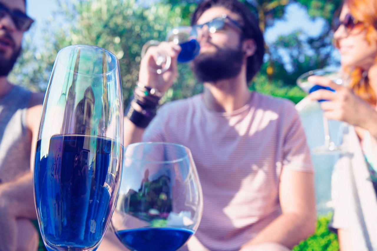Синее вино и опохмеляющее мороженное