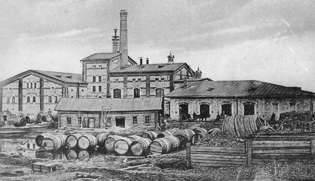 Жигулёвский пивоваренный завод, Самара, XIX век