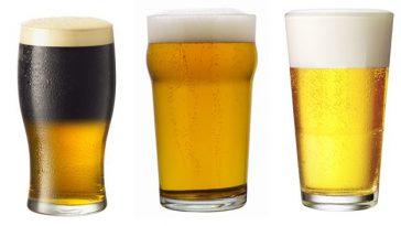 Разнообразие пивных бокалов