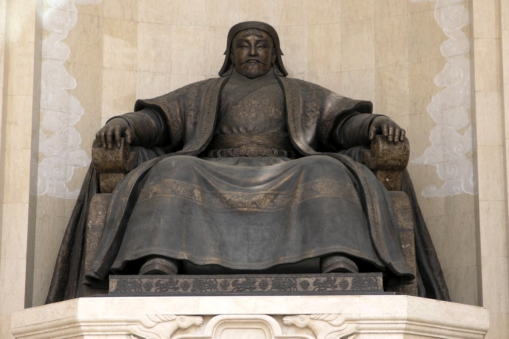 Чингис-хан.