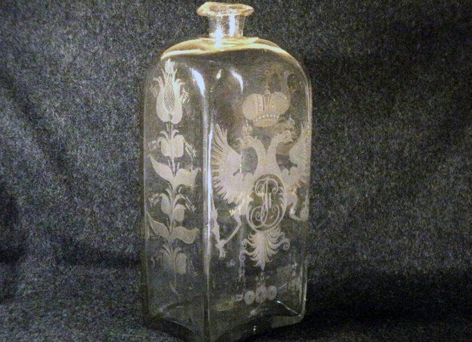 Стеклянный Штоф или, мера водки в Царской России